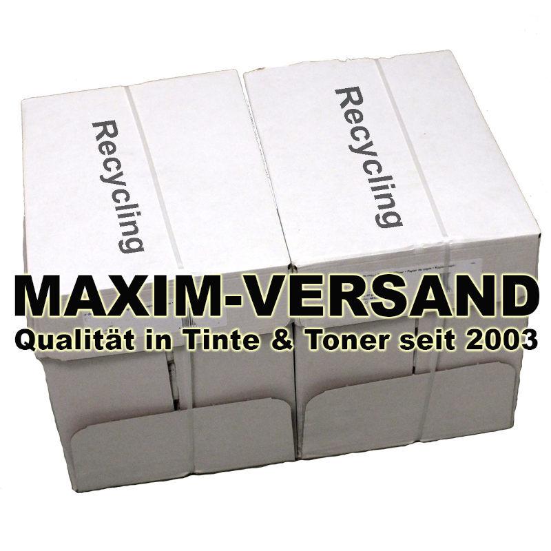 Office: 10x 500 Blatt Recycling - Druckerpapier / Kopierpapier 80g bräunlich