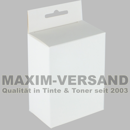 Tinte & Zubehör: Neutrale Verpackung / Aufhängeschachtel mit Eurolochung / Box