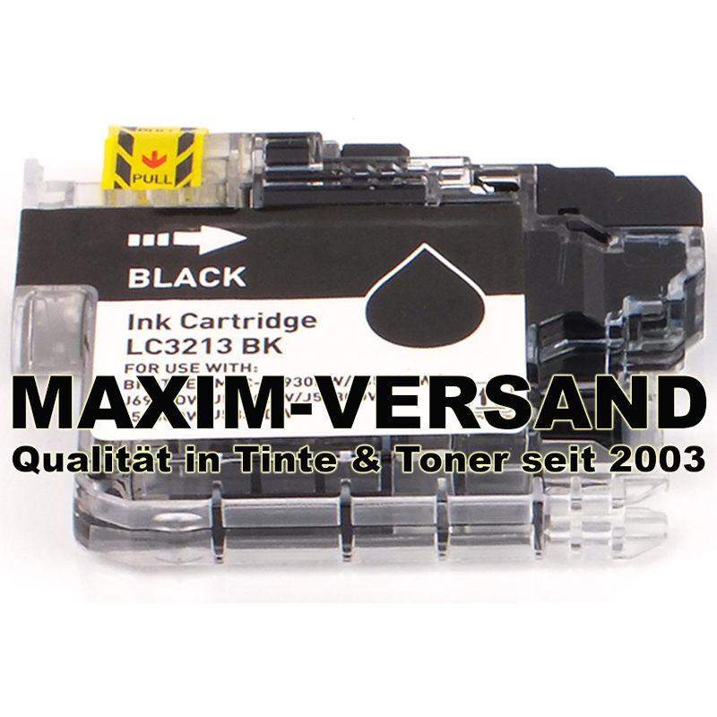 Brother LC-3213 BK - kompatibel - schwarz / black - mit Chip