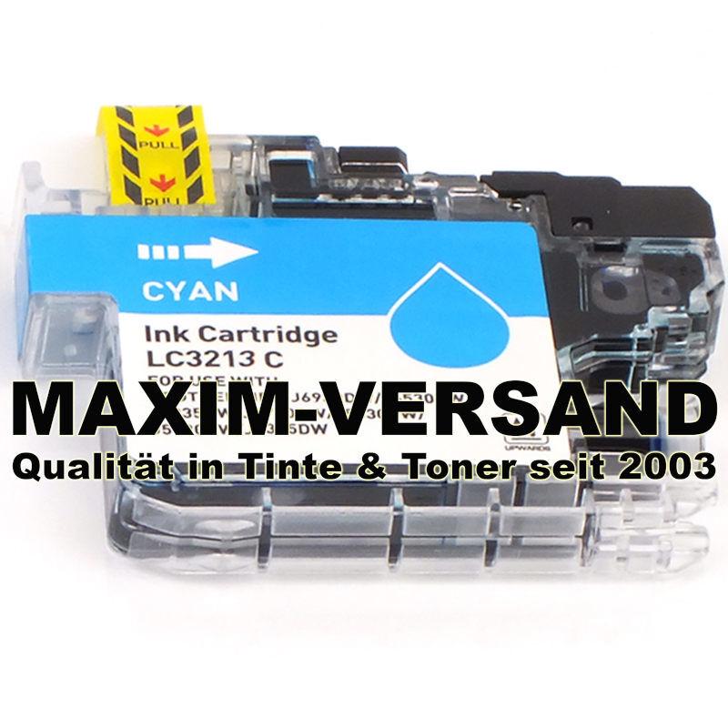 Brother LC-3213 C - kompatibel - blau / cyan - mit Chip