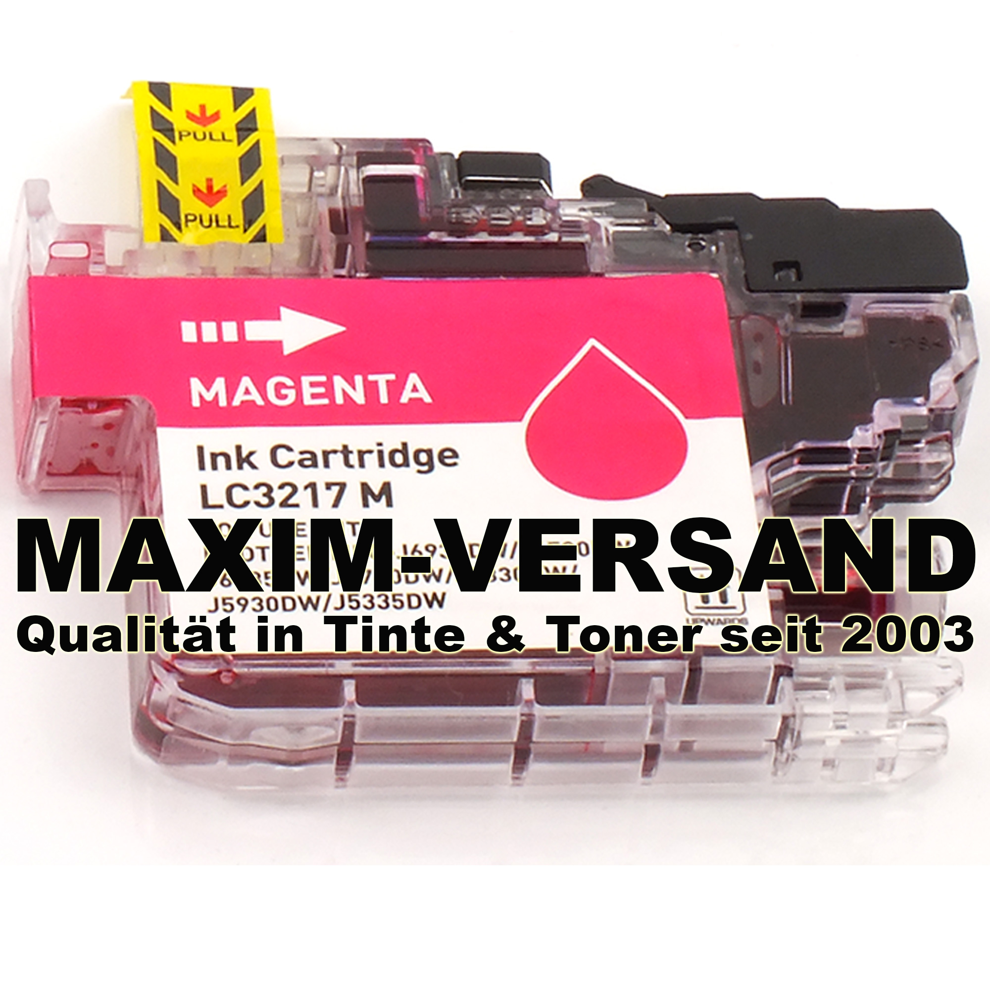 Brother LC-3217 M - kompatibel - rot / magenta - mit Chip
