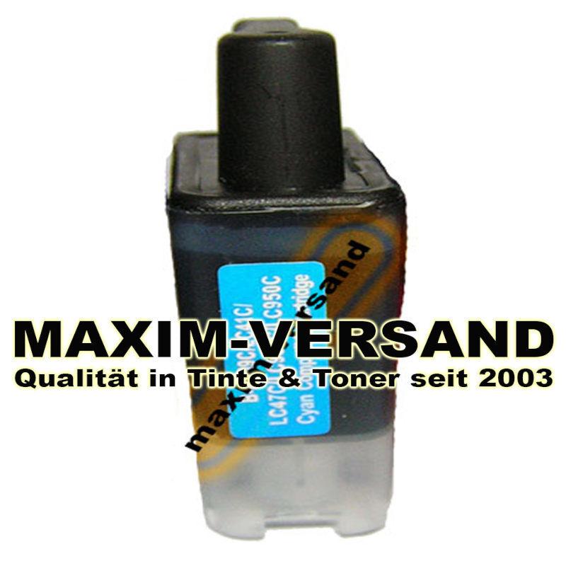 Reinigungspatrone für Brother LC-900 - cyan / blau