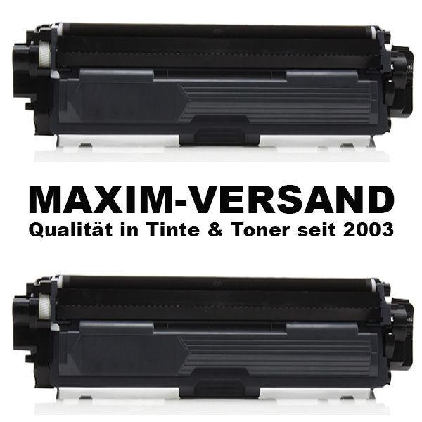 Set ersetzt Brother TN-2320 schwarz / black - kompatibel - Toner x 2