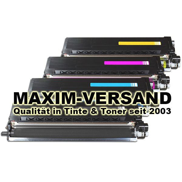 Brother TN-325 kompatibel - Black, Cyan, Yellow, Magenta - 4er Toner-Set