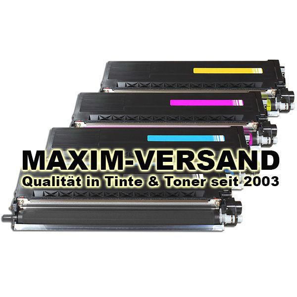 Brother TN-325 kompatibel - Black, Cyan, Yellow, Magenta - 4er Toner-Set