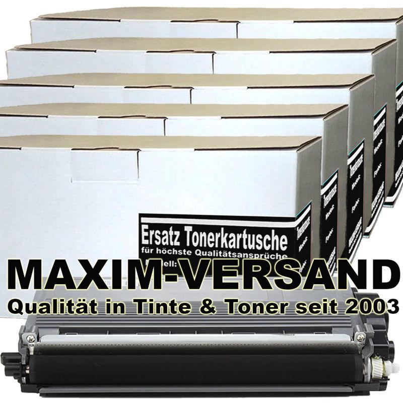 Set ersetzt Brother TN-3380 kompatibel - Toner schwarz / black - 8.000 Seiten x 5