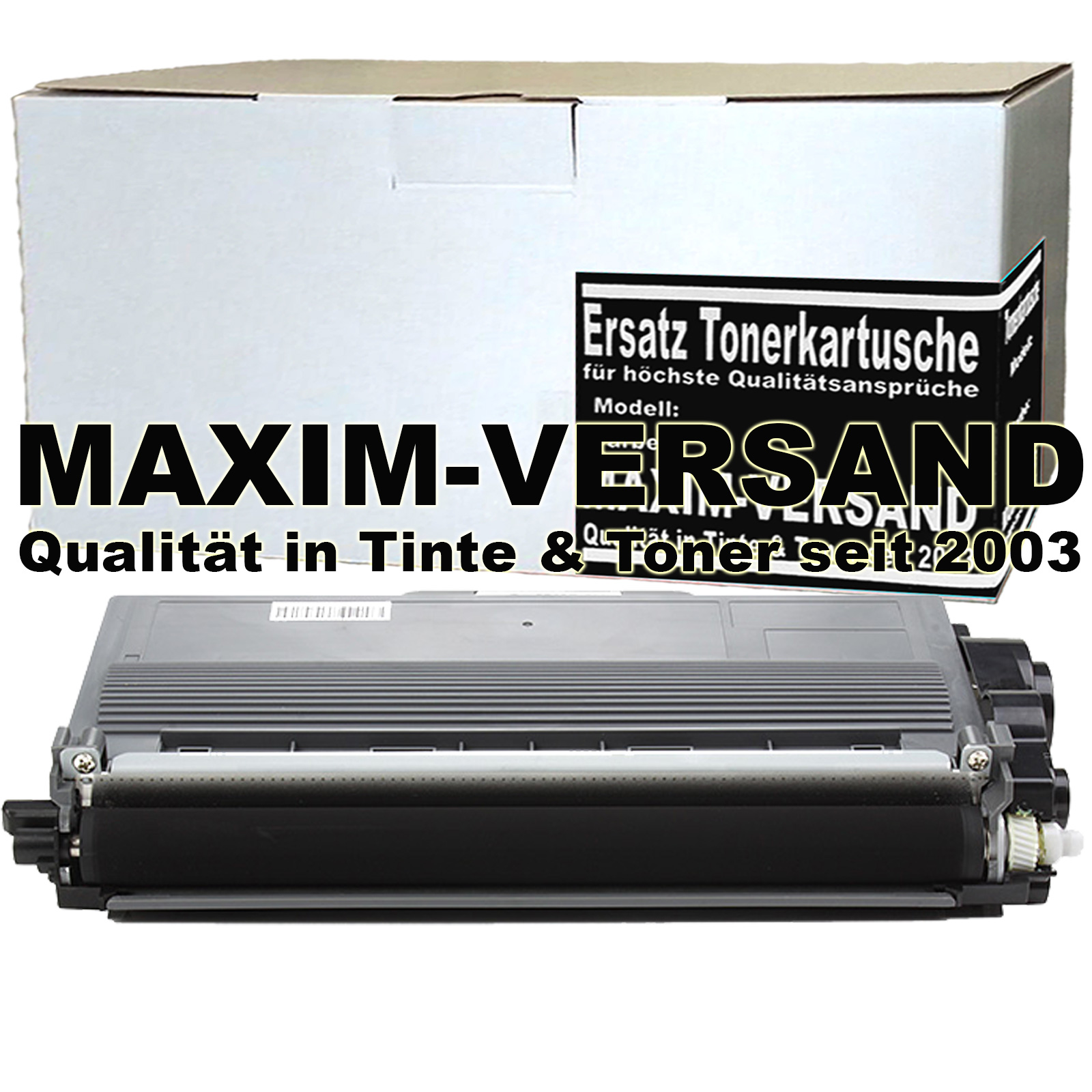 Brother TN-3380 Toner / Toner-Patrone - kompatibel - schwarz / black