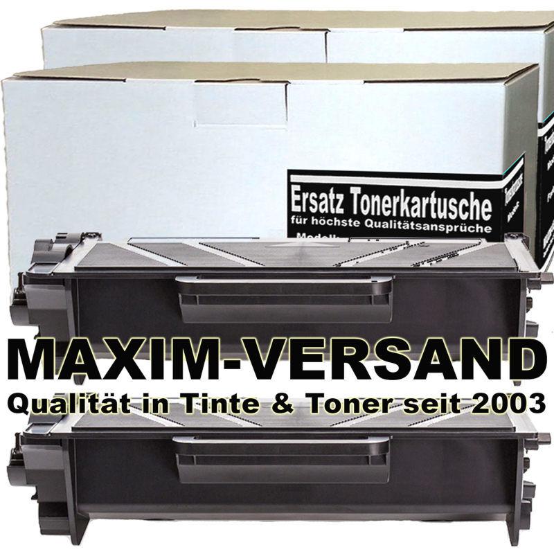 Set ersetzt Brother TN-3520 kompatibel - Toner schwarz - 20.000 Seiten x 2
