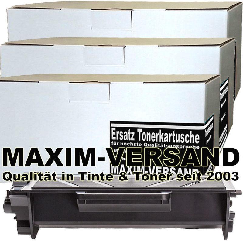 Set ersetzt Brother TN-3520 kompatibel - Toner schwarz - 20.000 Seiten x 3
