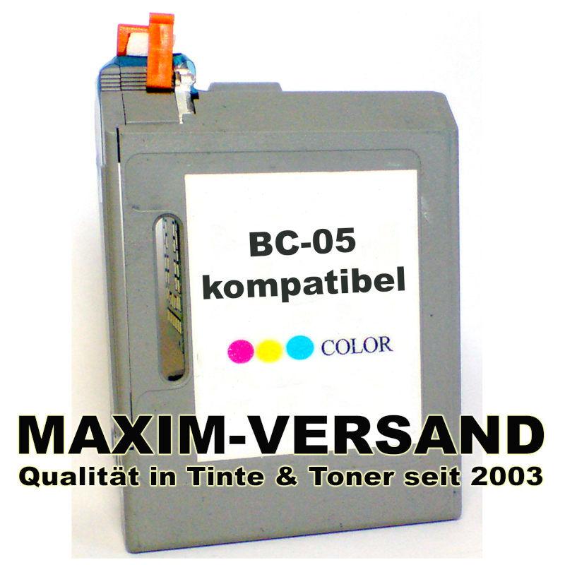 Canon BC-05 - recycelt - 3-farbig / color