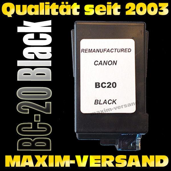 Canon BC-20 - recycelt - schwarz / black