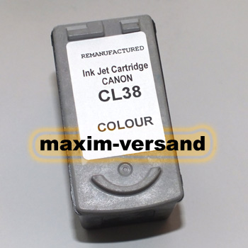 Canon CL-38 - recycelt - 3-farbig / color
