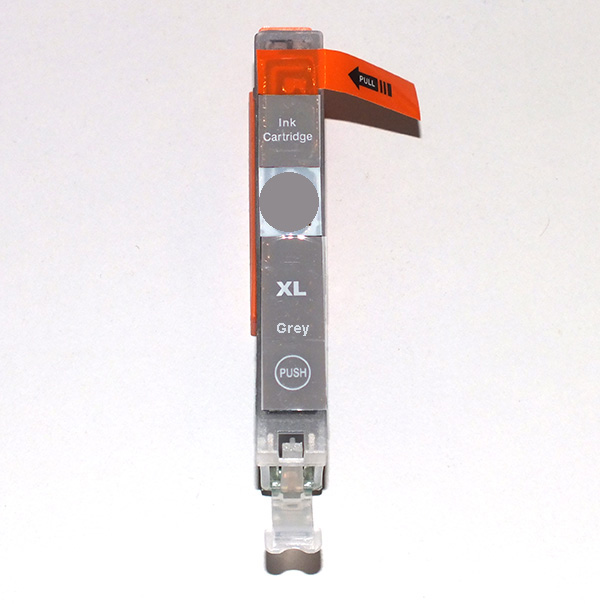 Canon CLI-521GY grey / grau - kompatibel MIT CHIP