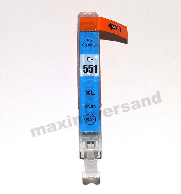 Reinigungspatrone für Canon CLI-551 C - cyan / blau