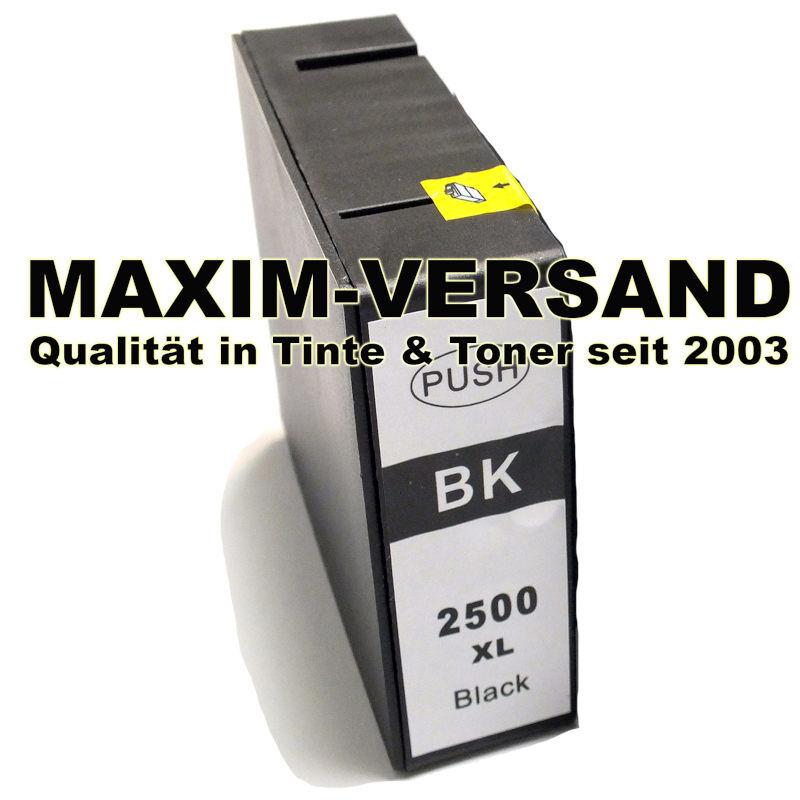 Canon PGI-2500 BK XL - Schwarz / Black - kompatibel MIT CHIP