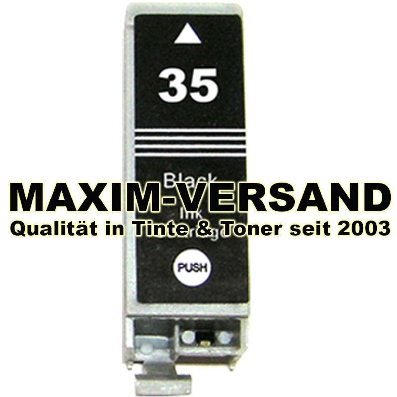 Canon PGI-35 - kompatibel - schwarz / black - 9,5 ml