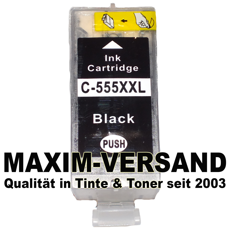 Canon PGI-555PGBK XXL black - kompatibel MIT CHIP