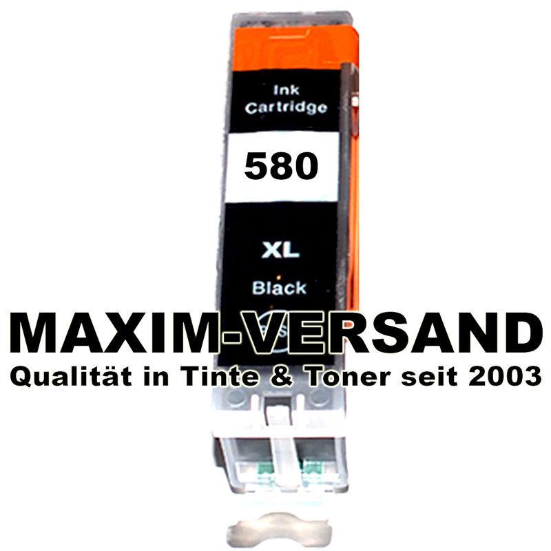 Canon PGI-580 PGBK - XXL - Schwarz / Black - kompatibel mit Chip