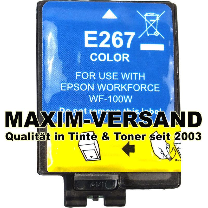 Epson 267 - kompatibel - color / farbig - Tintenpatrone mit Chip