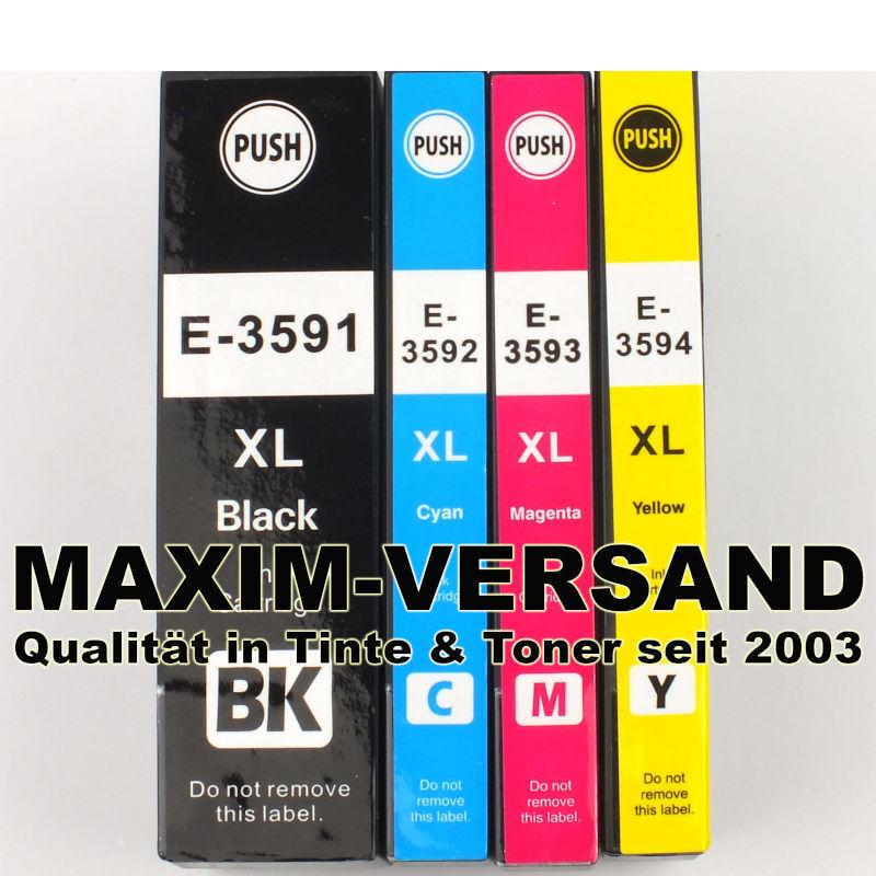 Epson T3591, T3592, T3593, T3594 kompatibel Multipack (35XL) (4er Set)