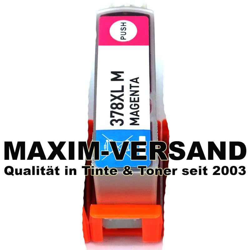 Epson 378 XL - kompatibel - magenta / rot - mit Chip