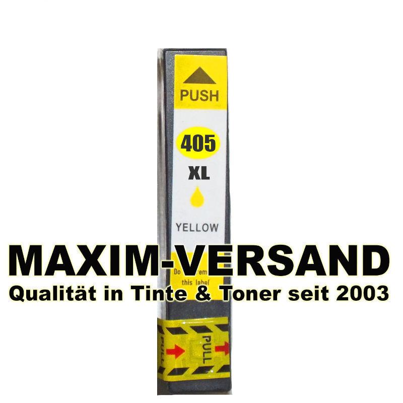 Epson 405 XL - kompatibel - yellow / gelb - mit Chip