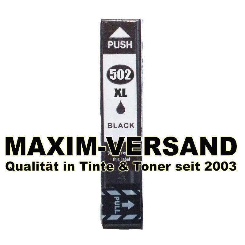 Epson 502 XL - kompatibel - black / schwarz - mit Chip