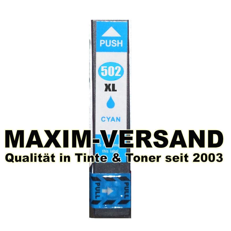 Epson 502 XL - kompatibel - cyan / blau - mit Chip