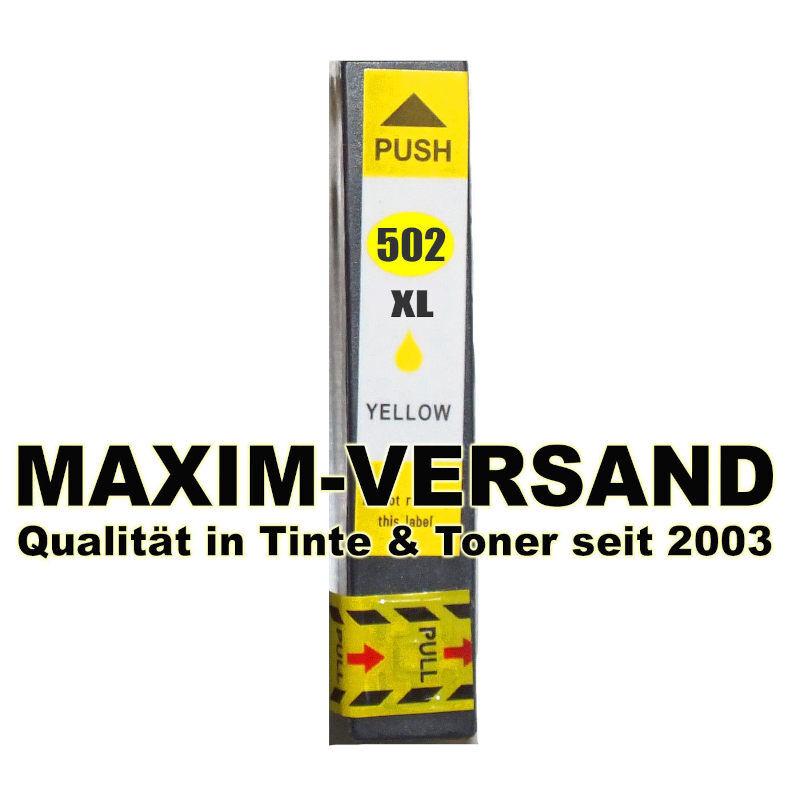 Epson 502 XL - kompatibel - yellow / gelb - mit Chip