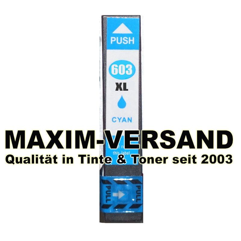 Epson 603 XL - kompatibel - cyan / blau - mit Chip