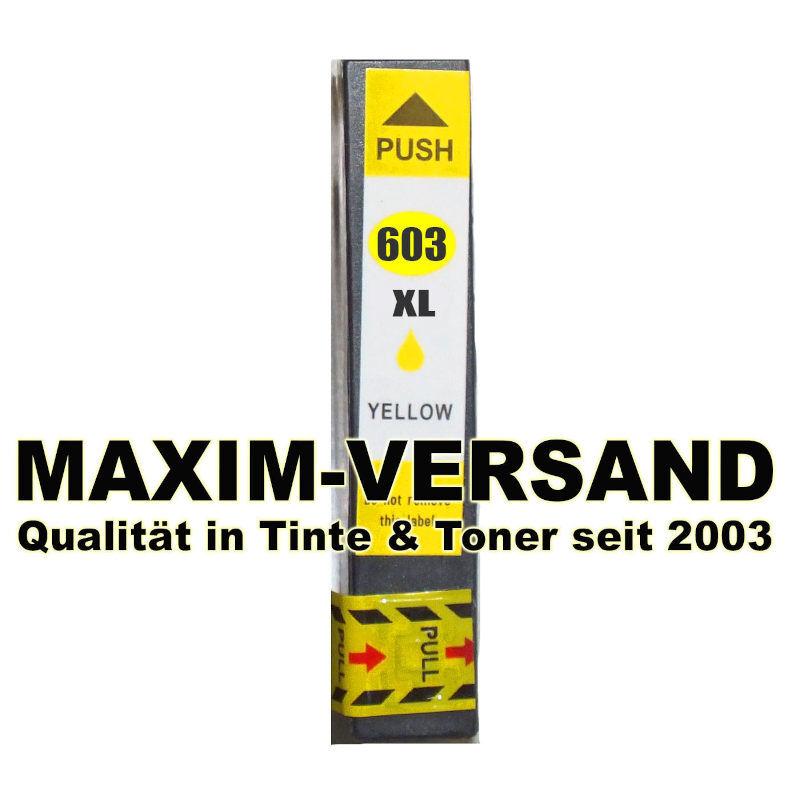 Epson 603 XL - kompatibel - yellow / gelb - mit Chip