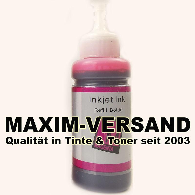 Tinten-Flasche ersetzt Epson EcoTank 664 - T6643 - magenta / rot - 70 ml