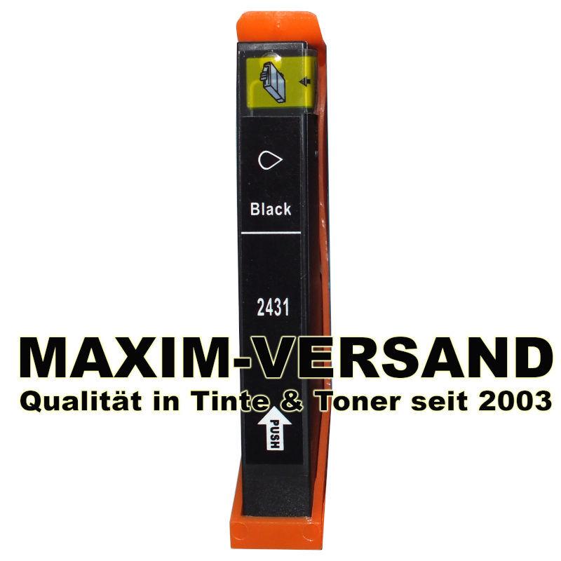 Epson T2431 (24XL) - kompatibel - schwarz / black