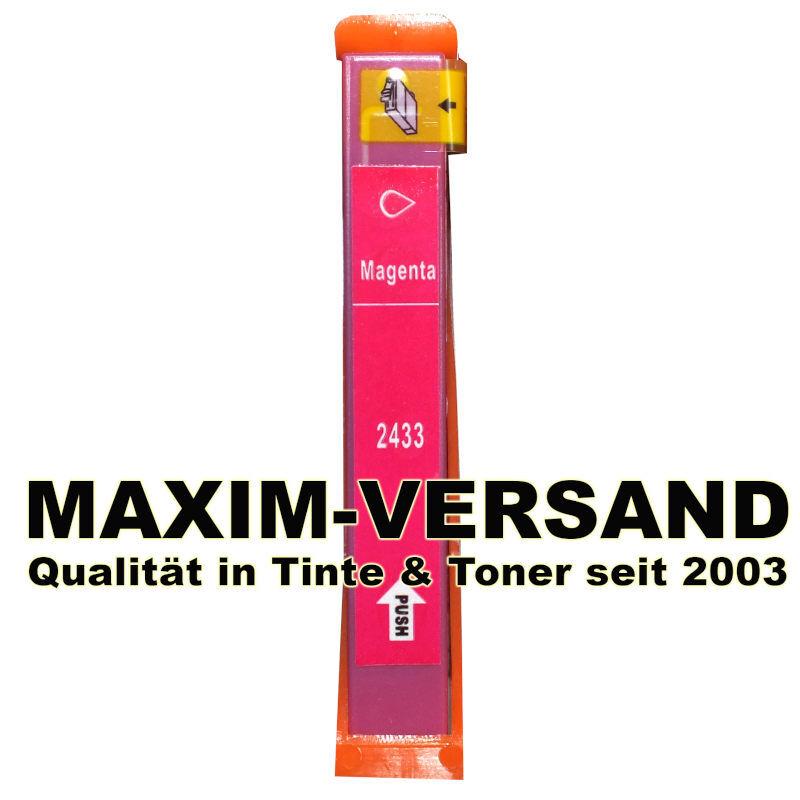 Epson T2433 (24XL) - kompatibel - rot / magenta