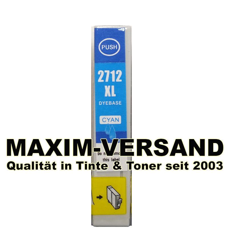 Reinigungspatrone für Epson T2712 - kompatibel - blau / cyan