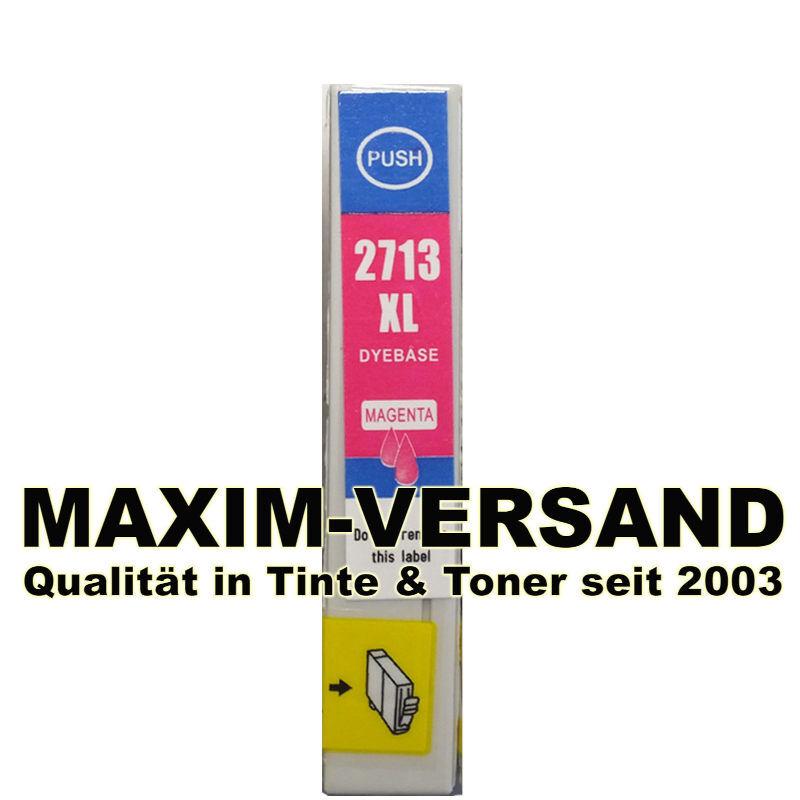 Reinigungspatrone für Epson T2713 - kompatibel - rot / magenta