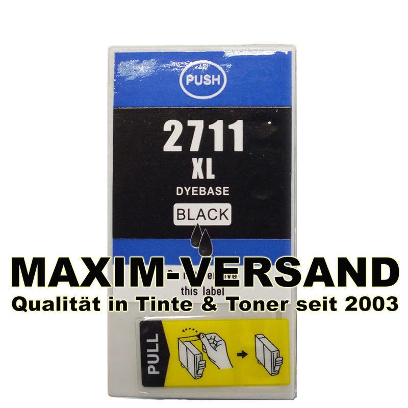 Epson T2711 / T2791 (27XL, 27XXL) - kompatibel - schwarz / black - min. 34 ml