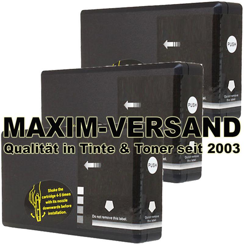 Set für Epson T7891 XXL (große Patronen) schwarz / black kompatibel x 3