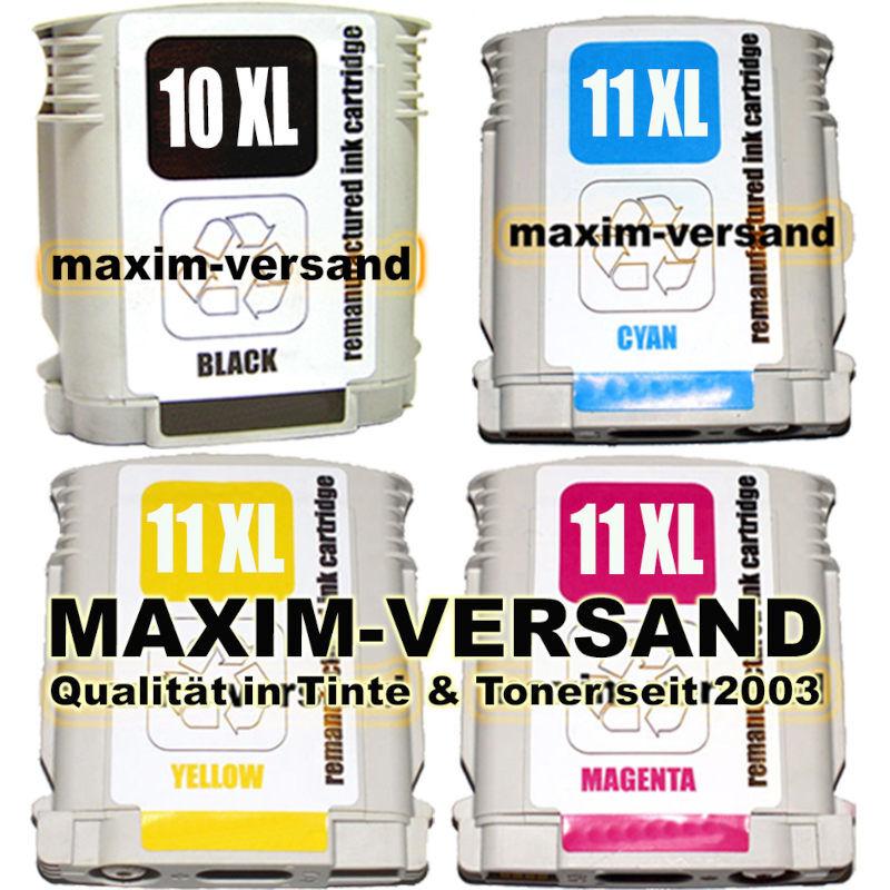 HP 10 BK + 11 Ye + 11 Ma + 11 Cy kompatibel