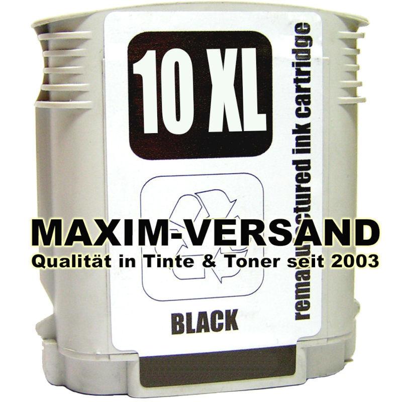 HP 10 - kompatibel - C4844AE - 69 ml - schwarz / black