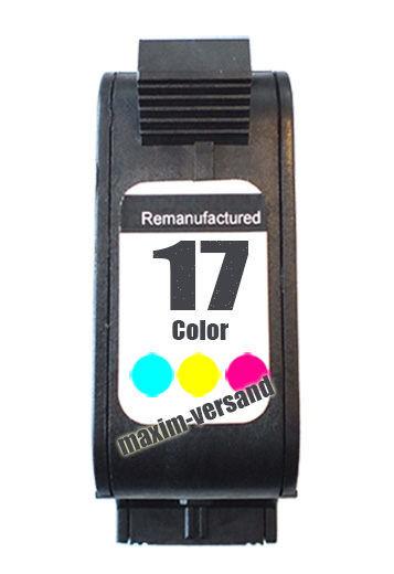 HP 17 - recycelt - C6625AE - 39 ml - 3-farbig / color