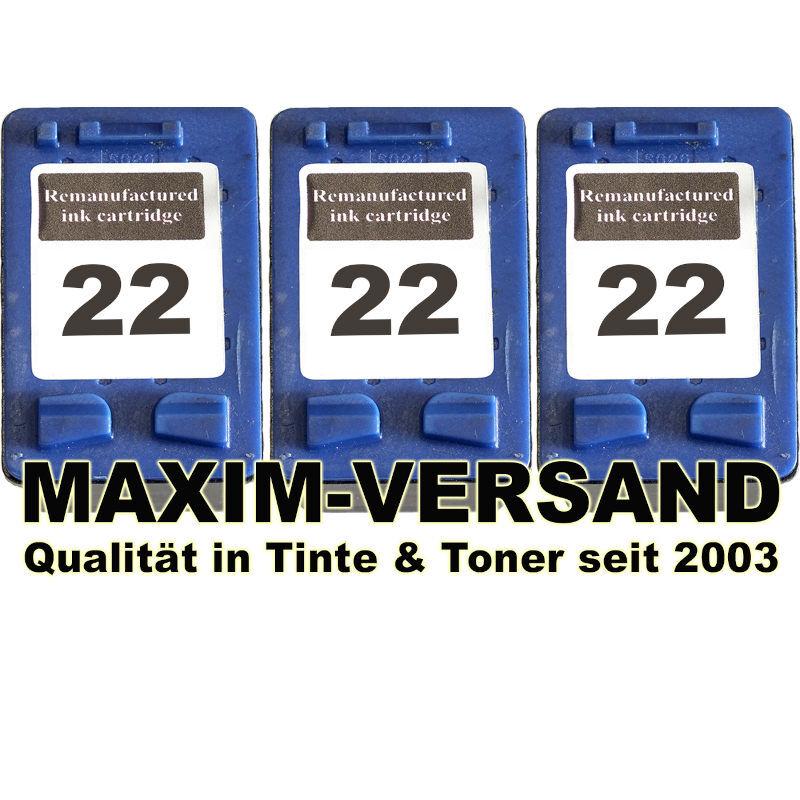HP 22 x 3 - kompatibel