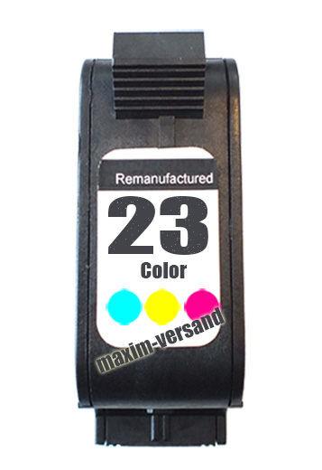 HP 23 - recycelt - C1823DE - 39 ml - 3-farbig / color