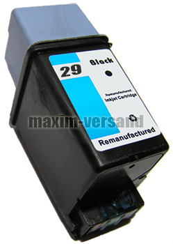 HP 29 - recycelt - 51629AE - 44 ml - schwarz / black