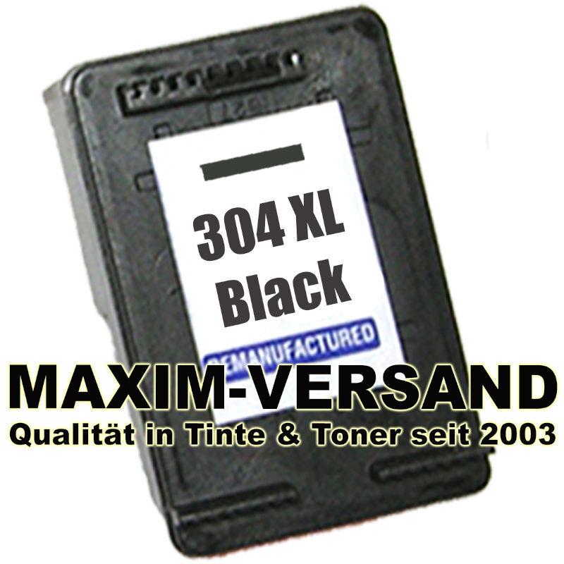 HP 304 XL - black / schwarz - recycelt - N9K08AE - Druckerpatrone