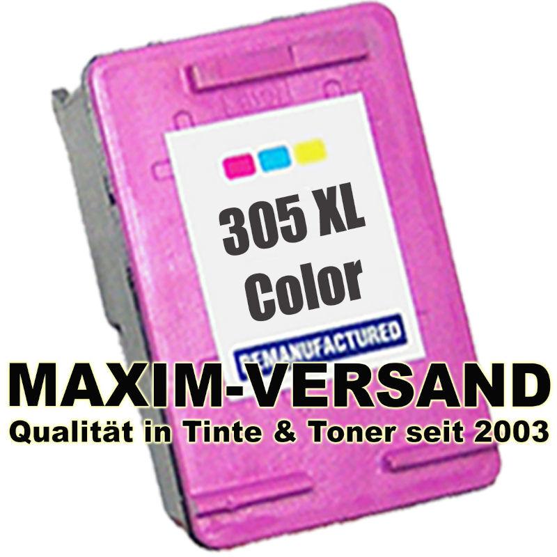 HP 305 XL - tri-color / 3-farbig - recycelt - 3YM63AE - Druckerpatrone