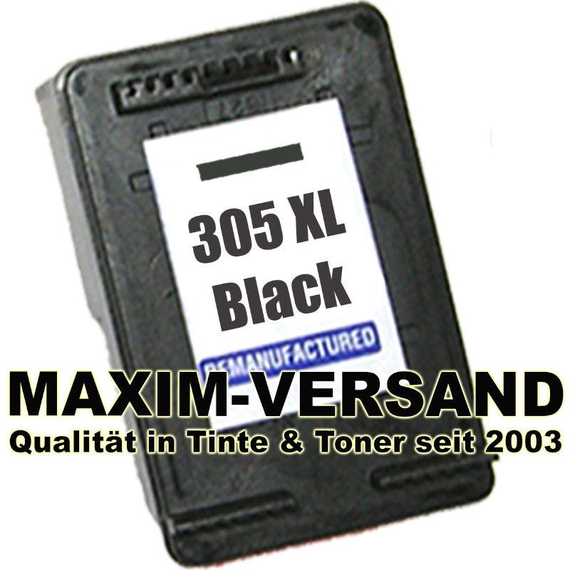 HP 305 XL - black / schwarz - recycelt - 3YM62AE - Druckerpatrone