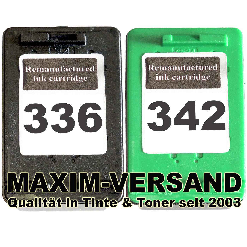 HP 336 + HP 342 kompatibel