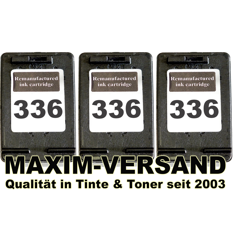 HP 336 x 3 - kompatibel