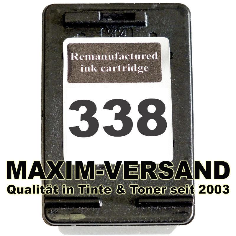 HP 338 - recycelt - C8765EE - 22 ml - schwarz /black